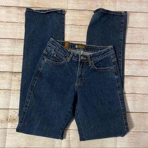 Aura by Wrangler Blue Straight Leg Jeans